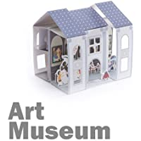 Papertoy 3d Paper House - What's Up Showtory Art Museum
