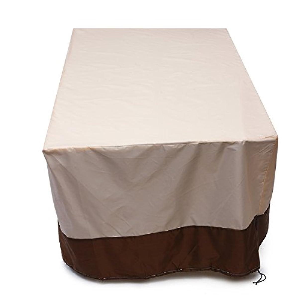 容器哲学者爬虫類屋外テーブルと椅子防水日焼け止め家具ダストカバー