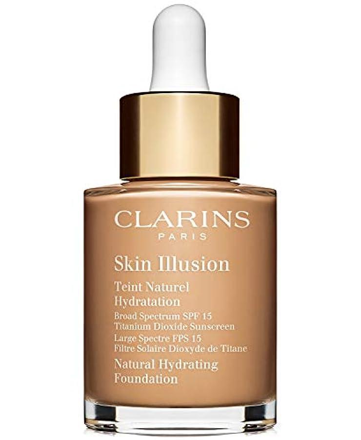 踊り子救い眩惑するクラランス Skin Illusion Natural Hydrating Foundation SPF 15# 110 Honey 30ml/1oz並行輸入品