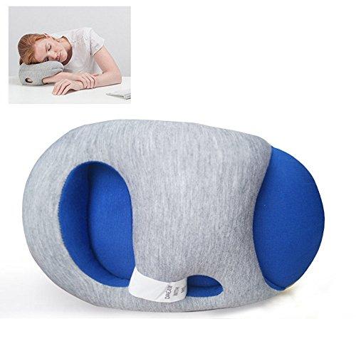 多用途枕 昼寝 うたた寝 多機能 クッション オフィス枕  ビーズクッション...