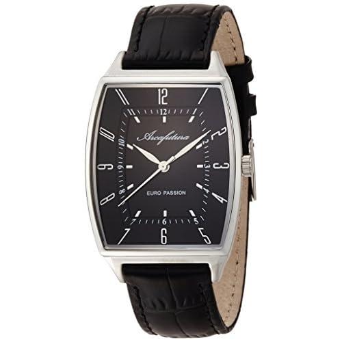 [アルカフトゥーラ]ARCA FUTURA 腕時計 クォーツ EC494BK メンズ