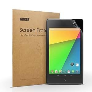 Anker Nexus 7(2013) タブレット用 2枚セット 液晶保護フィルム 高精細度 マット仕上げ 日本産のPET素材使用 汚れ・シミ防止加工