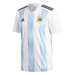 (アディダス) adidas サッカー アルゼンチン代表 ホームレプリカユニフォーム半袖 DTQ94 [メンズ] DTQ94 BQ9324 ホワイト/クリアブルー/ブラック O