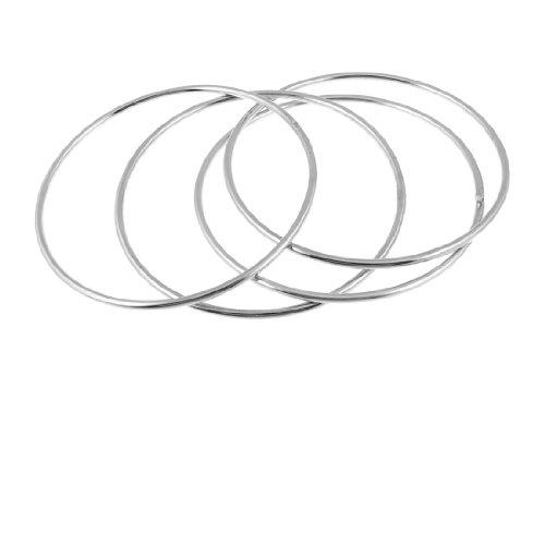 uxcell 手品セット フォーリング コメディアンステージ マジック トリック 小道具 シルバートーン メタル