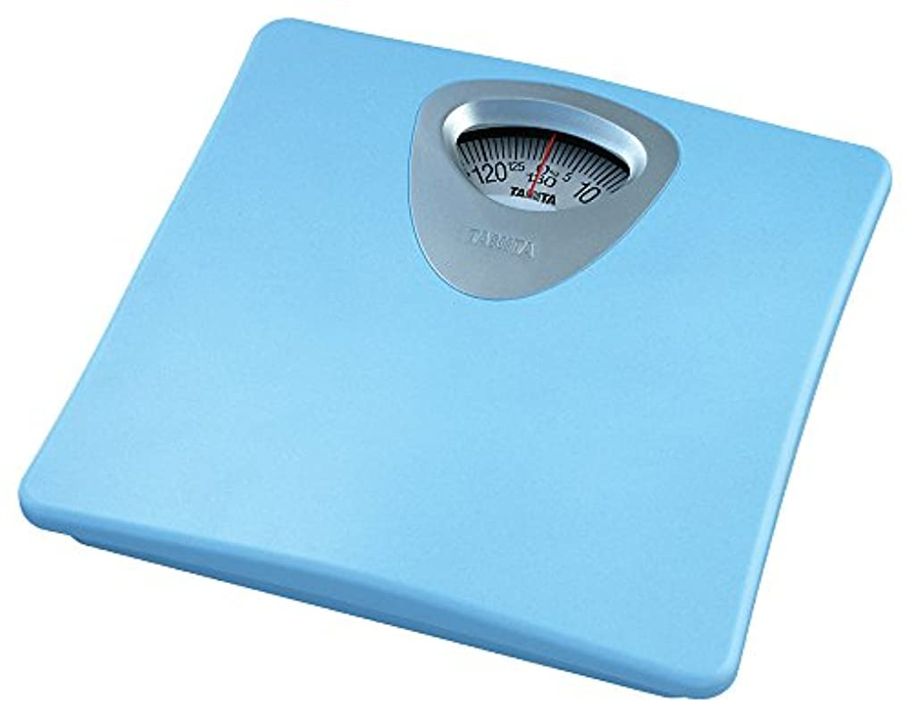 オーバーコート約束するペットタニタ 体重計 アナログ ブルー HA-851 BL