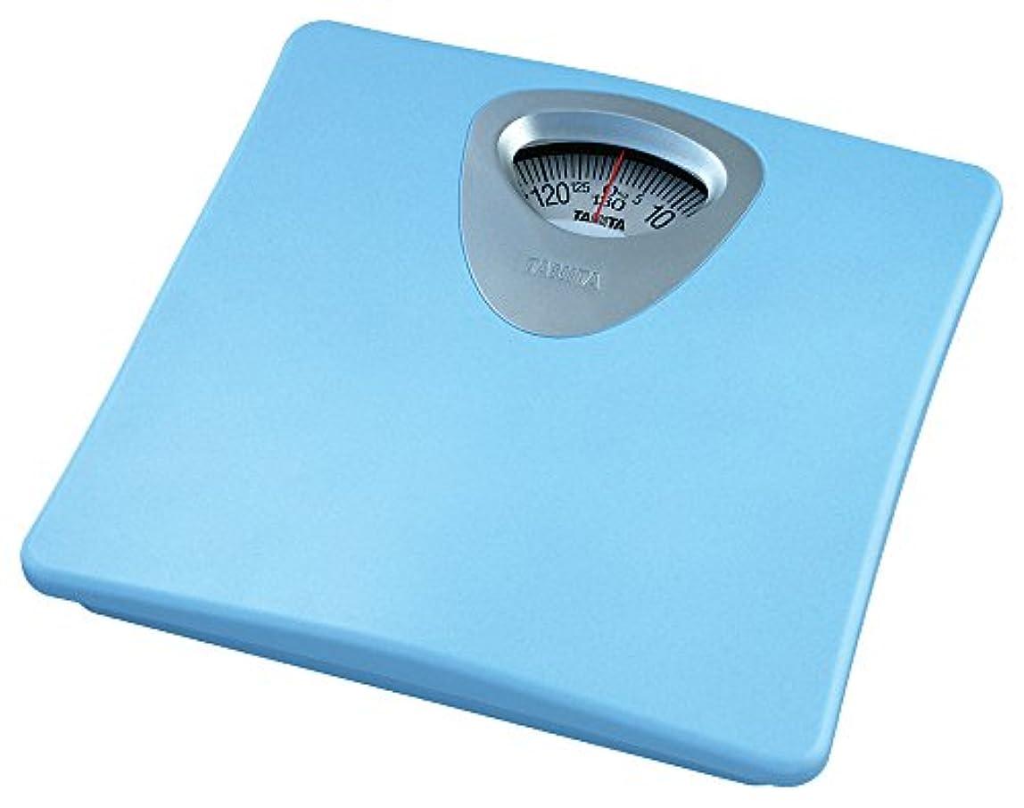 熱帯の落胆させる投資するタニタ 体重計 アナログ ブルー HA-851 BL