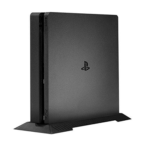 (ケテン)Keten PS4 slim/スリム 縦置きスタンド 中空デザイン 省スペース  PlayStation4 Slim ブラック