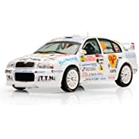イクソ 1/43 Skoda Octavia WRC No64 Rally Monte Carlo 2008 完成品
