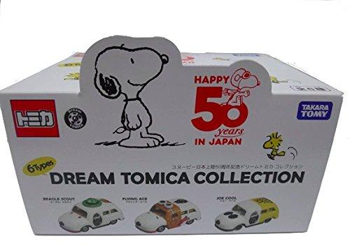 ドリームトミカ スヌーピー日本上陸50周年記念 ドリームトミカコレクション [BOX]