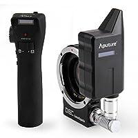 Aputure DEC lensregain更新されfor MFTカメラ0.75Xフォーカス削減アダプタTelecompressor Opticレジューサアダプタワイヤレスフォーカスコントローラ
