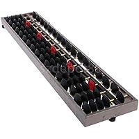 古代Abacus 17ロッドメタルそろばん学習ツール数学ビジネス子供おもちゃ