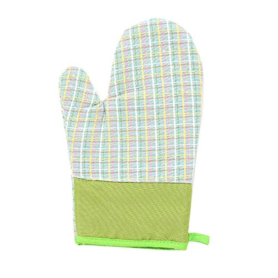 ナンセンスレンジ現れるXianheng1 電子レンジ手袋 手袋 電子レンジ 断熱手袋 耐熱手袋 キッチン用手袋 調理用手袋 キッチン手袋 耐熱ミトン 焼き付き防止手袋 断熱火傷防止 焼け止め 2個 緑