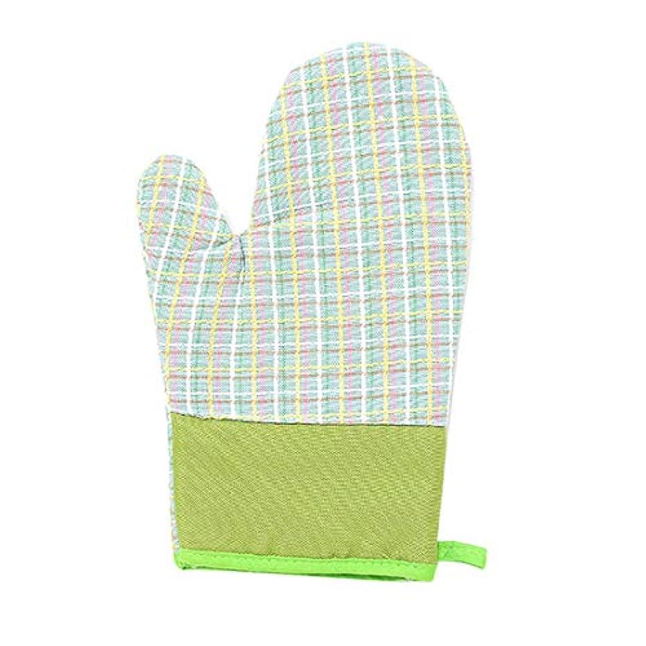 本質的にイヤホン地域のXianheng1 電子レンジ手袋 手袋 電子レンジ 断熱手袋 耐熱手袋 キッチン用手袋 調理用手袋 キッチン手袋 耐熱ミトン 焼き付き防止手袋 断熱火傷防止 焼け止め 2個 緑