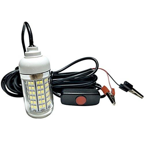 (エスネット) S-net 集魚灯 36 LED 水中 ライト フィッシング 投光器 夜 釣り DC12V スイッチ付きイカ釣り 等 SN-SGT(ブルー) -