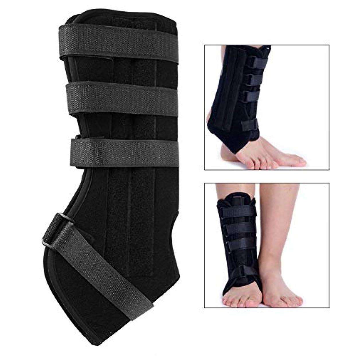 絡み合い出くわす行列足首装具、足首関節外部固定骨折治療修正サポートツールブレースサポート腱矯正手術後,S