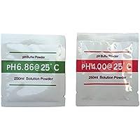 熱帯魚飼育等の水質検査 PH校正剤セット (pH6.86, pH4.00) (PH校正剤)
