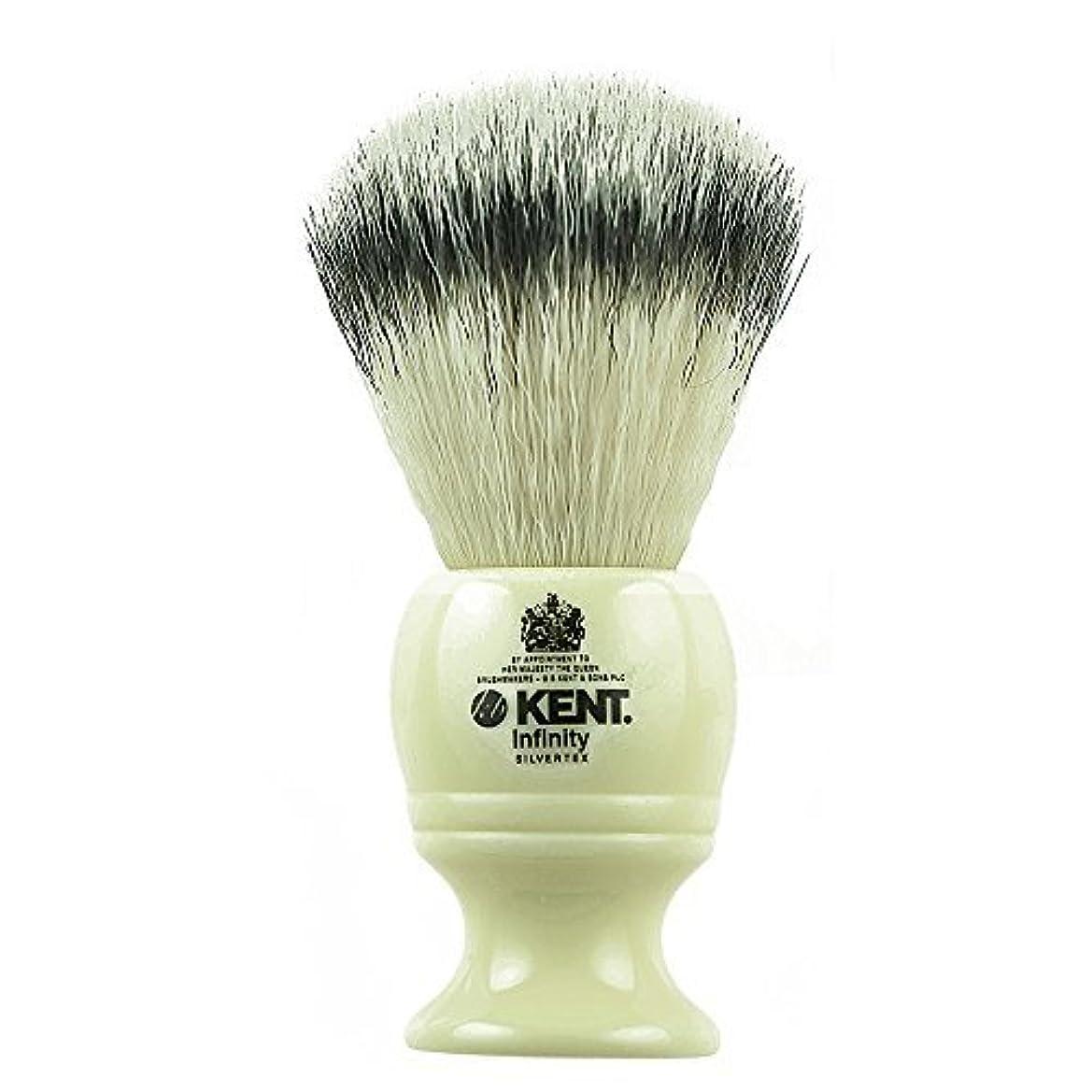 テレックストイレ継続中Kent INF1 Infinity Silvertex Soft Synthetic Bristle Shaving Brush [並行輸入品]