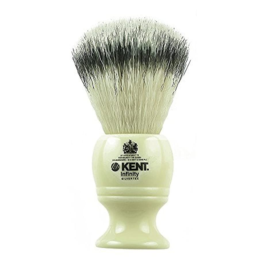 五十プロペラグローKent INF1 Infinity Silvertex Soft Synthetic Bristle Shaving Brush [並行輸入品]