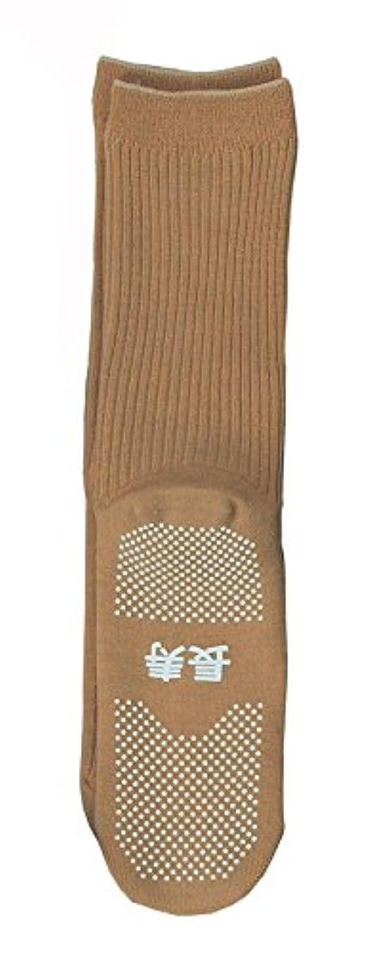 記念碑的なデッキ洗練された神戸生絲 すべり止め靴下( 長寿