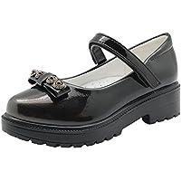 Children's Girl's Flats Sandals Oxford Dress Shoe (Little Kid) (Color : Gray, Size : 13 M US Little Kid)