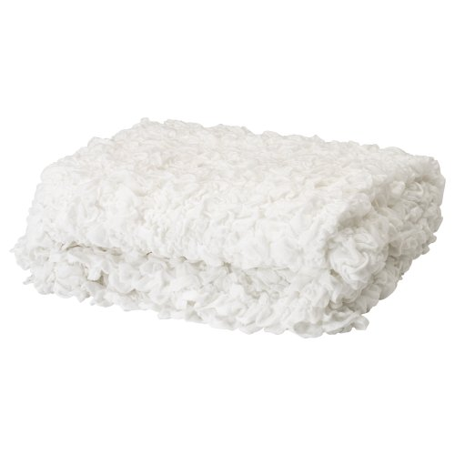 ★オフェーリア / OFELIA / 毛布 / ホワイト(170×130cm)[イケア]IKEA(60173856)
