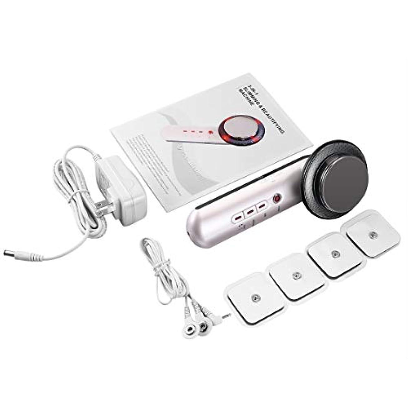くさび間違いなく上げるマッサージャーの反セルライトの赤外線療法のマッサージ用具を細くする超音波ボディ-Rustle666