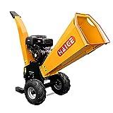 HAIGE ウッドチッパー 業務用 粉砕機 二枚刃 エンジン式 4サイクル 15馬力 HG-15HP-GGS 【西濃】
