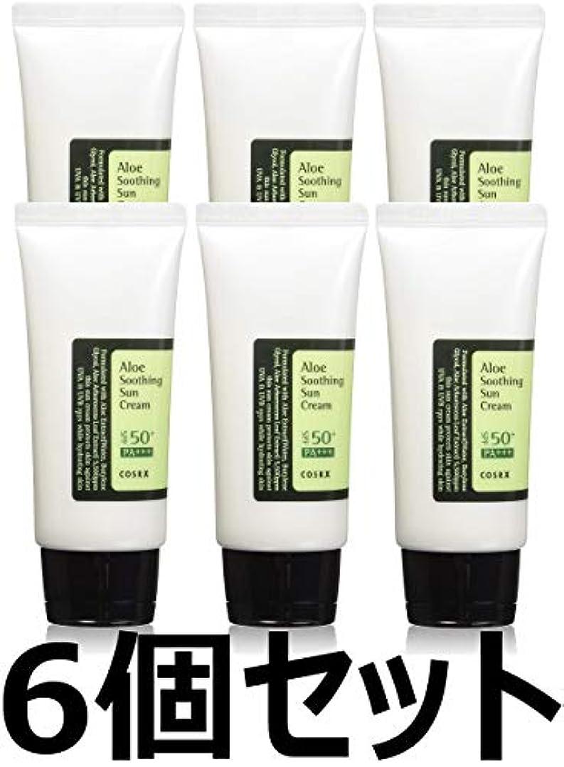 一致する困難織機(6 Pack) COSRX Aloe Soothing Sun Cream (並行輸入品)