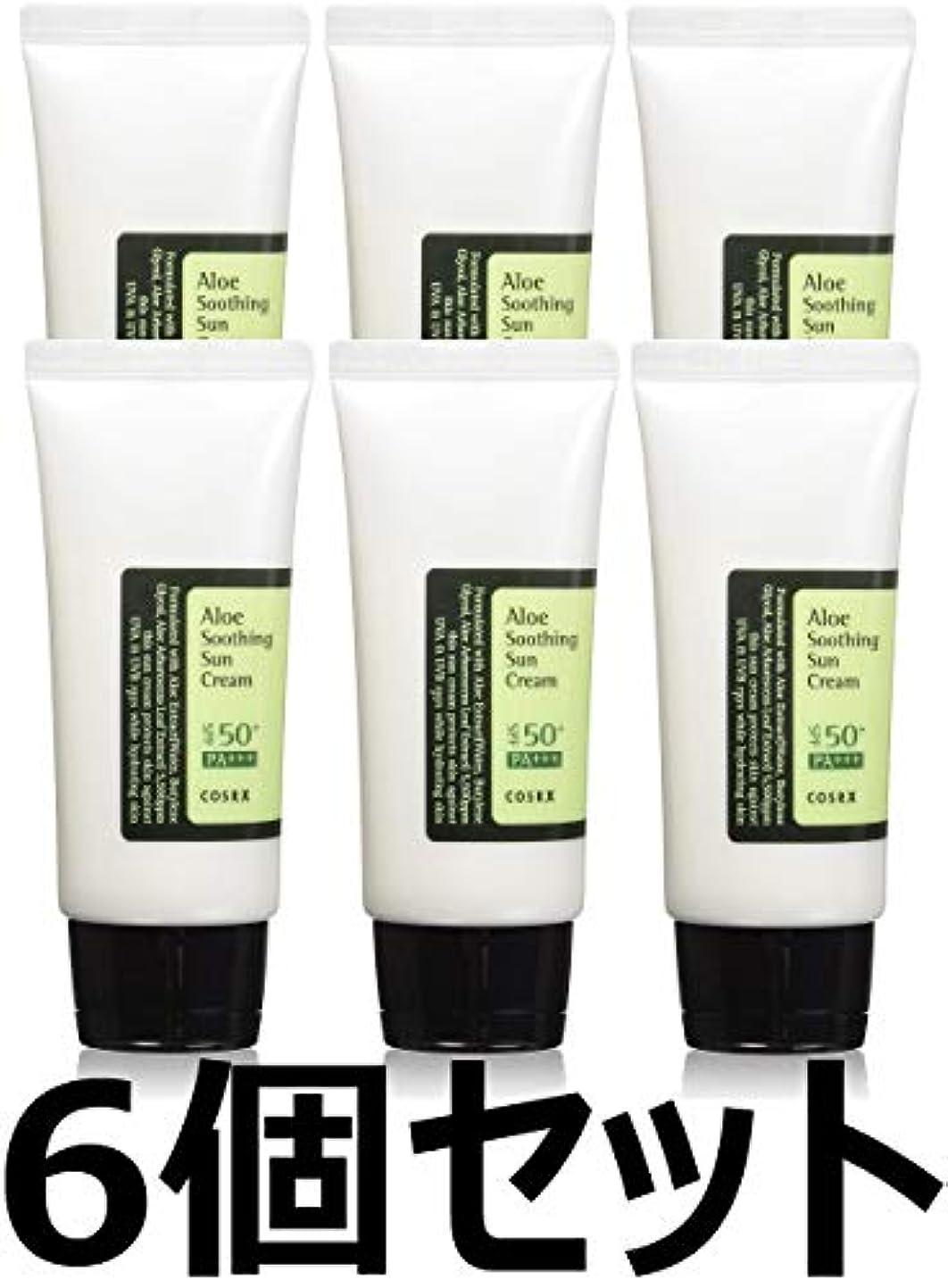 パラメータ子供達熟す(6 Pack) COSRX Aloe Soothing Sun Cream (並行輸入品)