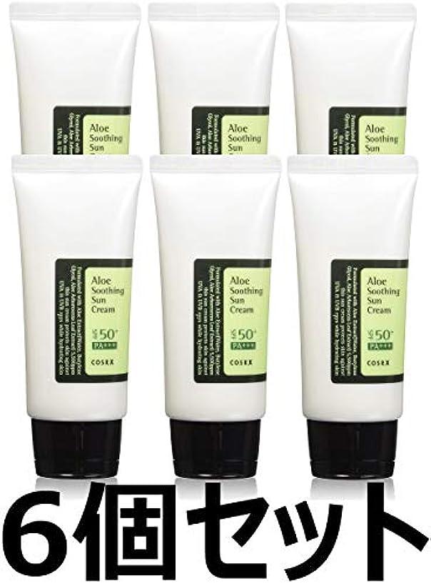 表示音楽ジョージハンブリー(6 Pack) COSRX Aloe Soothing Sun Cream (並行輸入品)