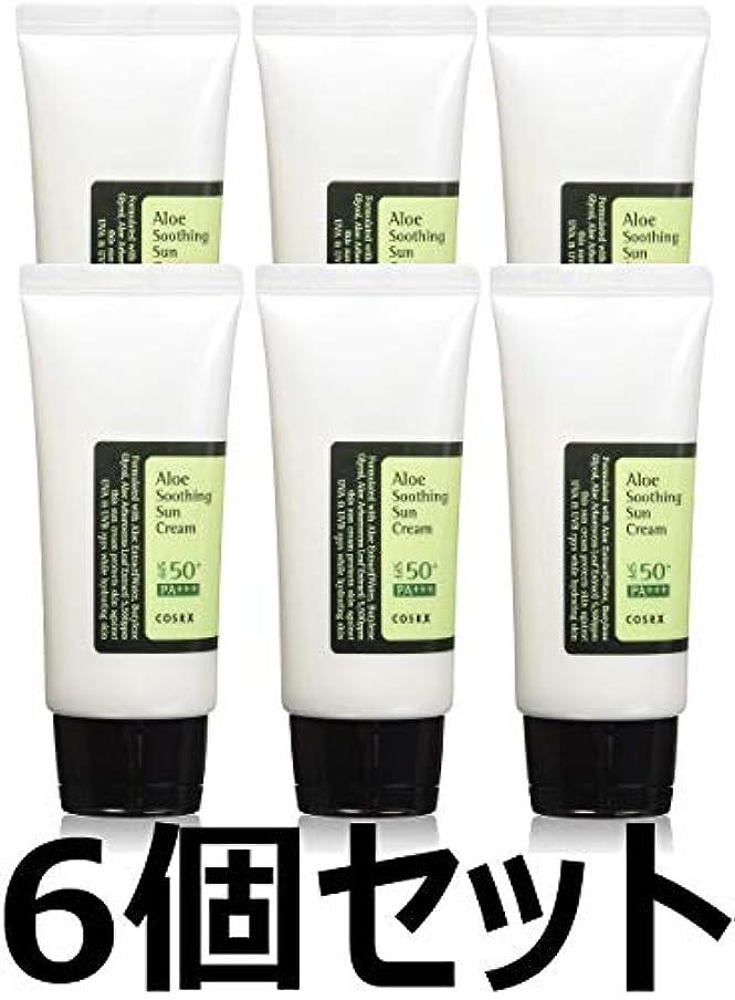 恐ろしいです第三ディベート(6 Pack) COSRX Aloe Soothing Sun Cream (並行輸入品)