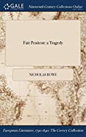 Fair Penitent: A Tragedy