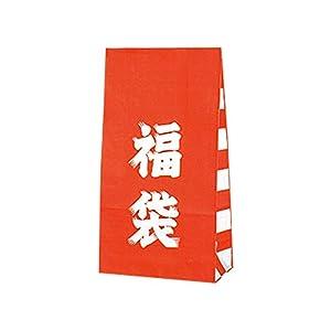 ヘイコー 紙袋 マチ付 ファンシーバッグ 福袋 S1 12x6.5x22cm 100枚