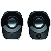 Logitech 2090339 Compact Stereo Speakers Z120, White