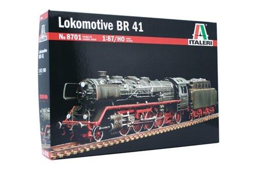 タミヤ イタレリ 1/87 トレインシリーズ BR41 蒸気機関車 8701