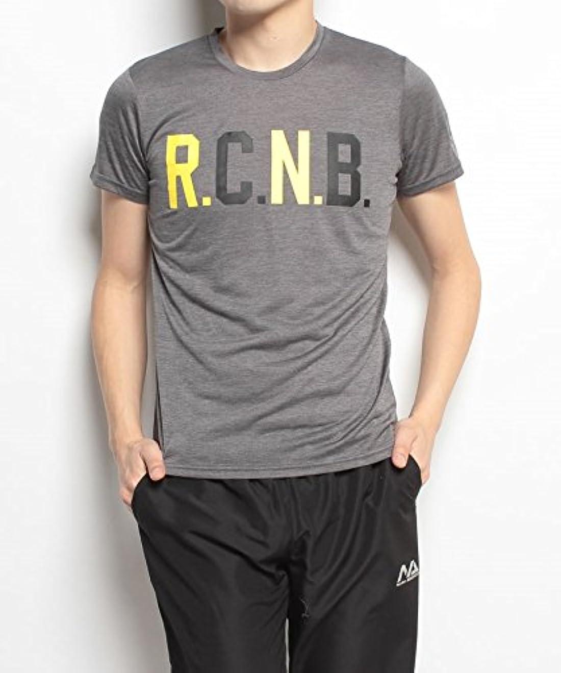 トラック降臨長いです(ナンバー) Number R.C.N.B.マルチカラーロゴTシャツ M チャコール