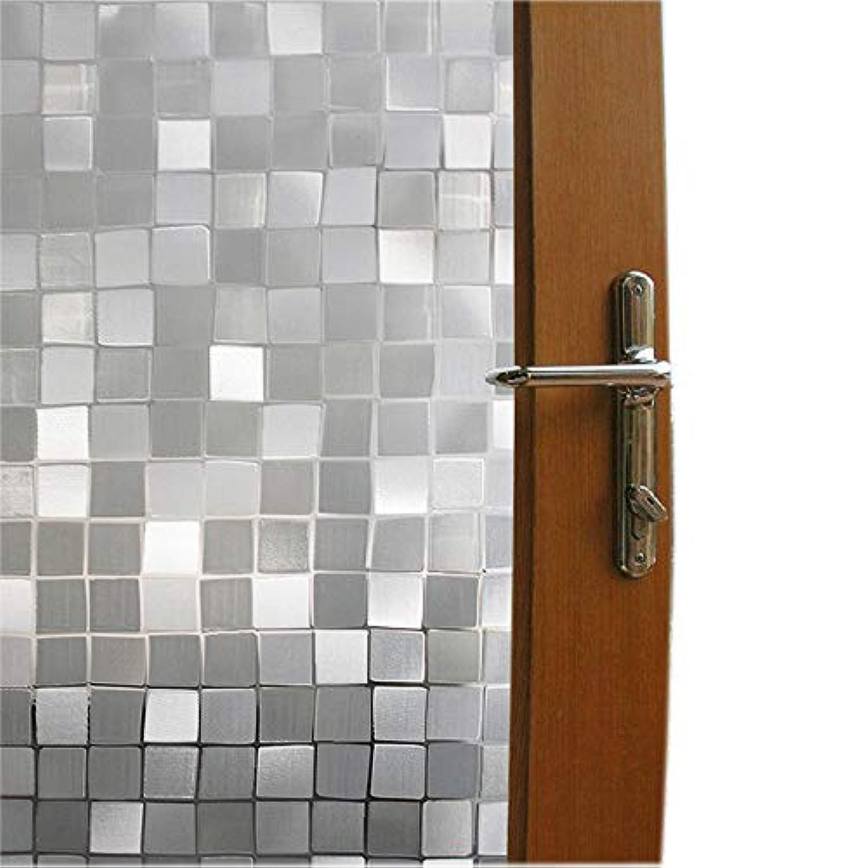 [ブロス]Bloss Privacy Frosted Bathroom Static Window Cling NO Glue Glass Film for Home Window 10231 [並行輸入品]