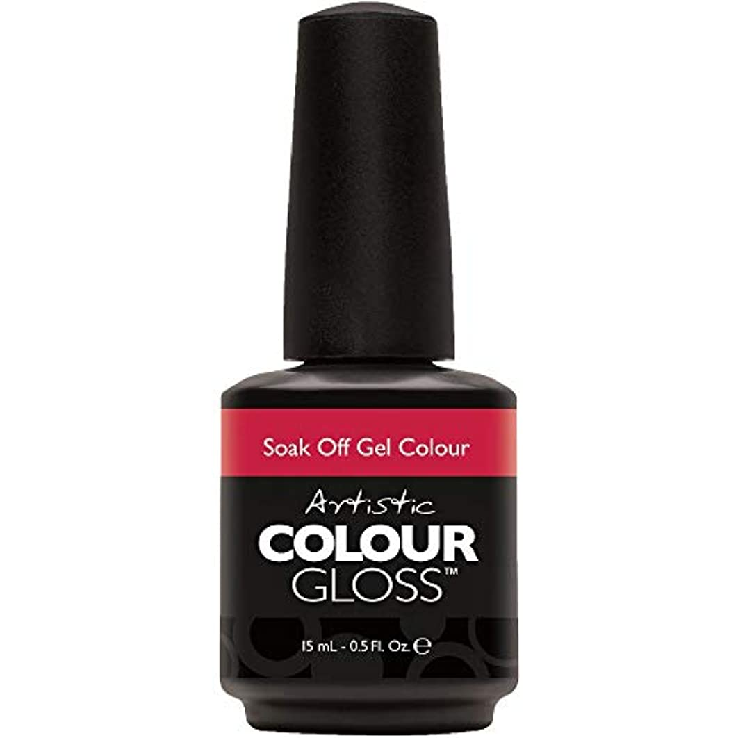 モード助手天気Artistic Colour Gloss - Oh So Red-Tro - 0.5oz / 15ml
