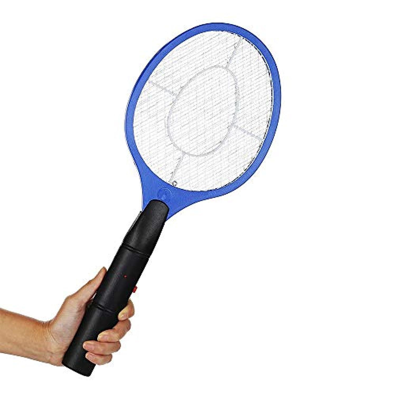 Moligh doll バッテリー操作 ハンドラケット 電気 モスキート?キラー 蝇叩き 昆虫 ホームガーデン ペスト バグ フライ
