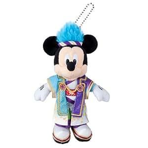 ディズニー夏祭り2016 ミッキーマウス ぬいぐるみバッジ 彩涼華舞 【東京ディズニーランド限定】