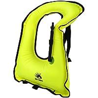 DAS Leben インフレータブルベスト 軽量 インフレータブル スノーケルベスト 大人 ライフジャケット 安全ダイビング 水 安全 子供や大人