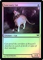 英語版フォイル 闇の隆盛 Dark Ascension DKA 聖所の猫 Sanctuary Cat マジック・ザ・ギャザリング mtg