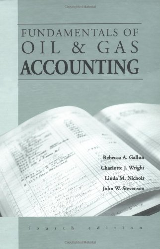 Download Fundamentals of Oil and Gas Accounting 0878147934