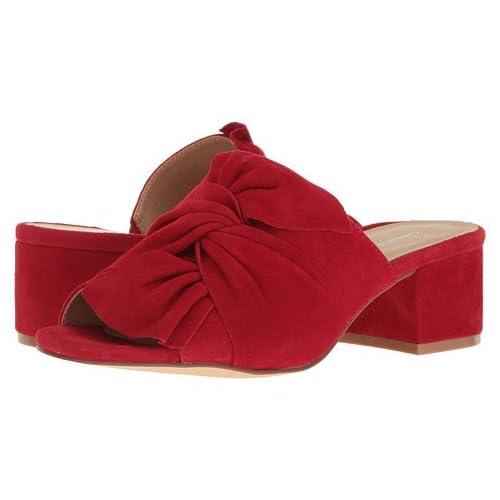 (チャイニーズランドリー)Chinese Laundry レディースサンダル・靴 Marlowe Rebel Red Kid Suede 9.5 26.5cm M [並行輸入品]