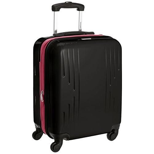 [ルコックスポルティフ] Le Coq Sportif スーツケース マックスキャビンTSAロック(ココキャリー) 36937 001 (ブラック)