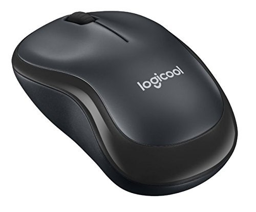Logicool ロジクール 静音マウス M220GR グレー ワイヤレス クリック音90%以上軽減 音響工学設計 電池寿命18ヶ月 小型 コンパクト