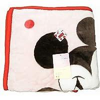 ミッキー&ミニー ミッキーマウス ニューマイヤー毛布 シングルサイズ 140×200cm