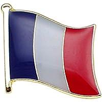 限定レア ピンバッジ New!フランス国旗トリコロールピンズフランス