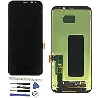 修理および交換LCD液晶ディスプレイおよびタッチパネルデジタイザアセンブリ+修理ツール Galaxy S8 5.8 inch /S8 edge G950F G950FD G950W G9500 G950A G950P G950T G950U G950V
