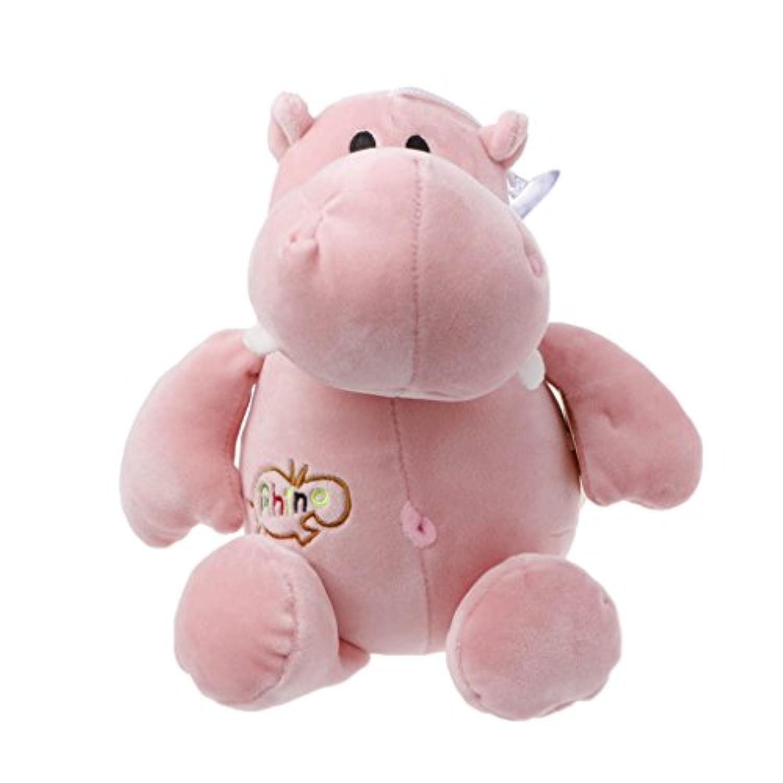 Chone 30 cm Plush Stuffed Animalおもちゃ、かわいいシミュレーション人形Lifelike Plush &コットンHippo Baby誕生日ギフト S ピンク 5AC400284